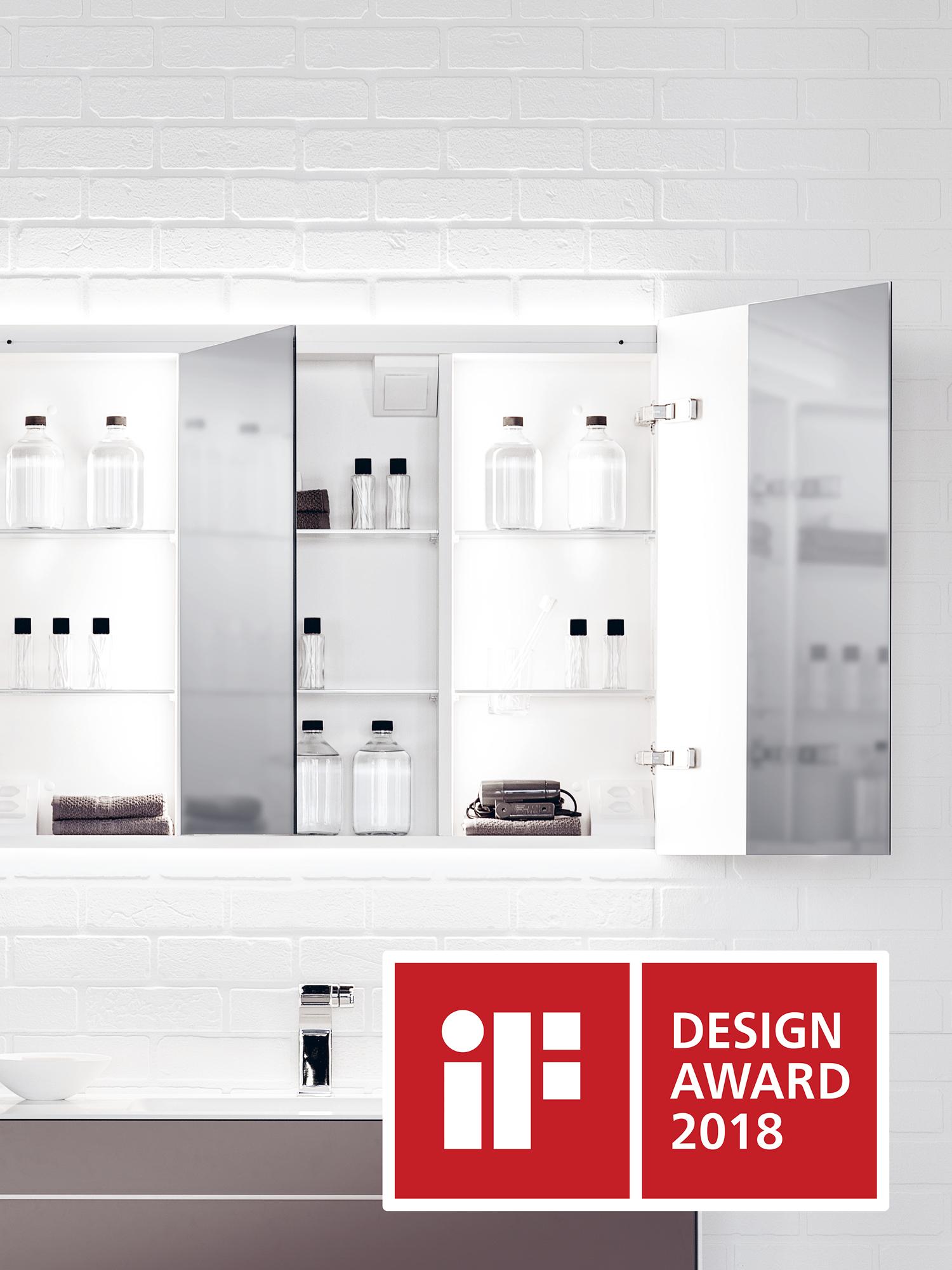 Spiegelschrank reflect erhält iF Design Award