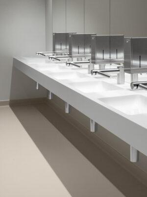 Der Waschtisch für öffentliche und halböffentliche Waschplätze